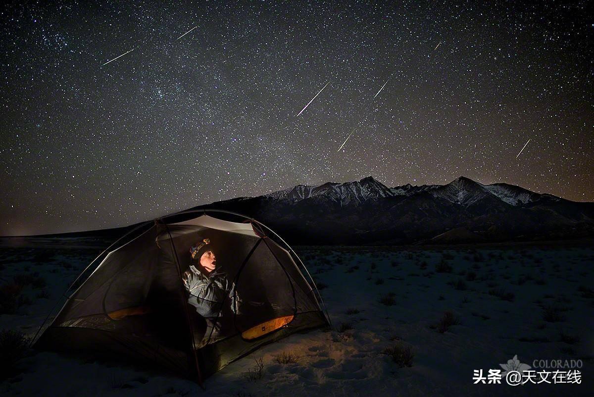 用三大流星雨之一的象限仪座流星雨来迎接2020年新的一年