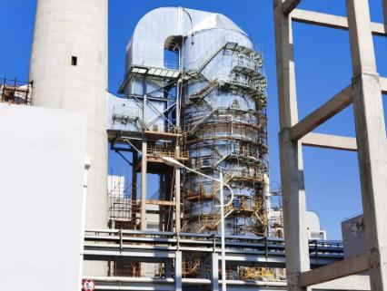脱硫塔玻璃鳞片施工有什么优势?