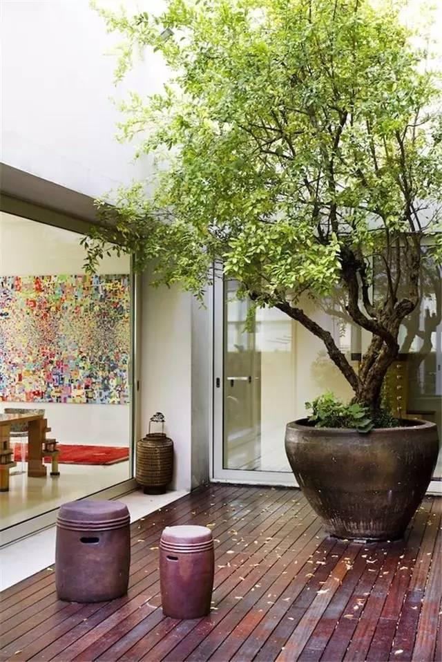 """28个私家""""花园庭院""""设计案例,繁华都市寻一方美院,悠闲度日"""
