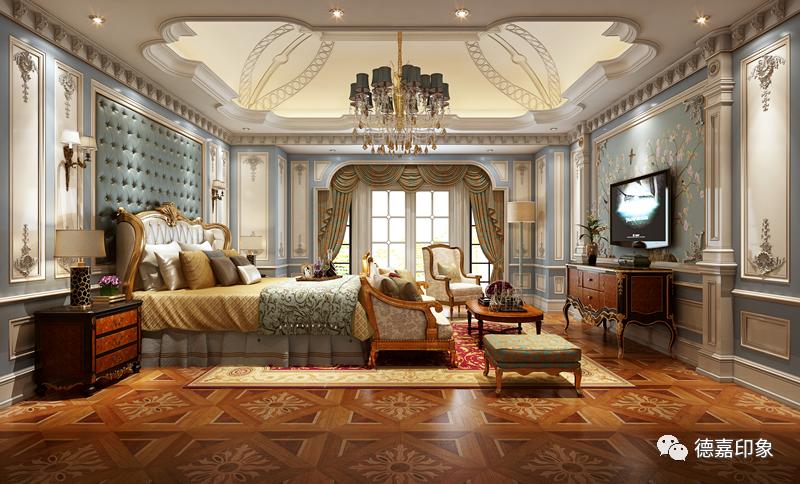 德嘉印象原木定制绝美卧室,演绎质感空间!