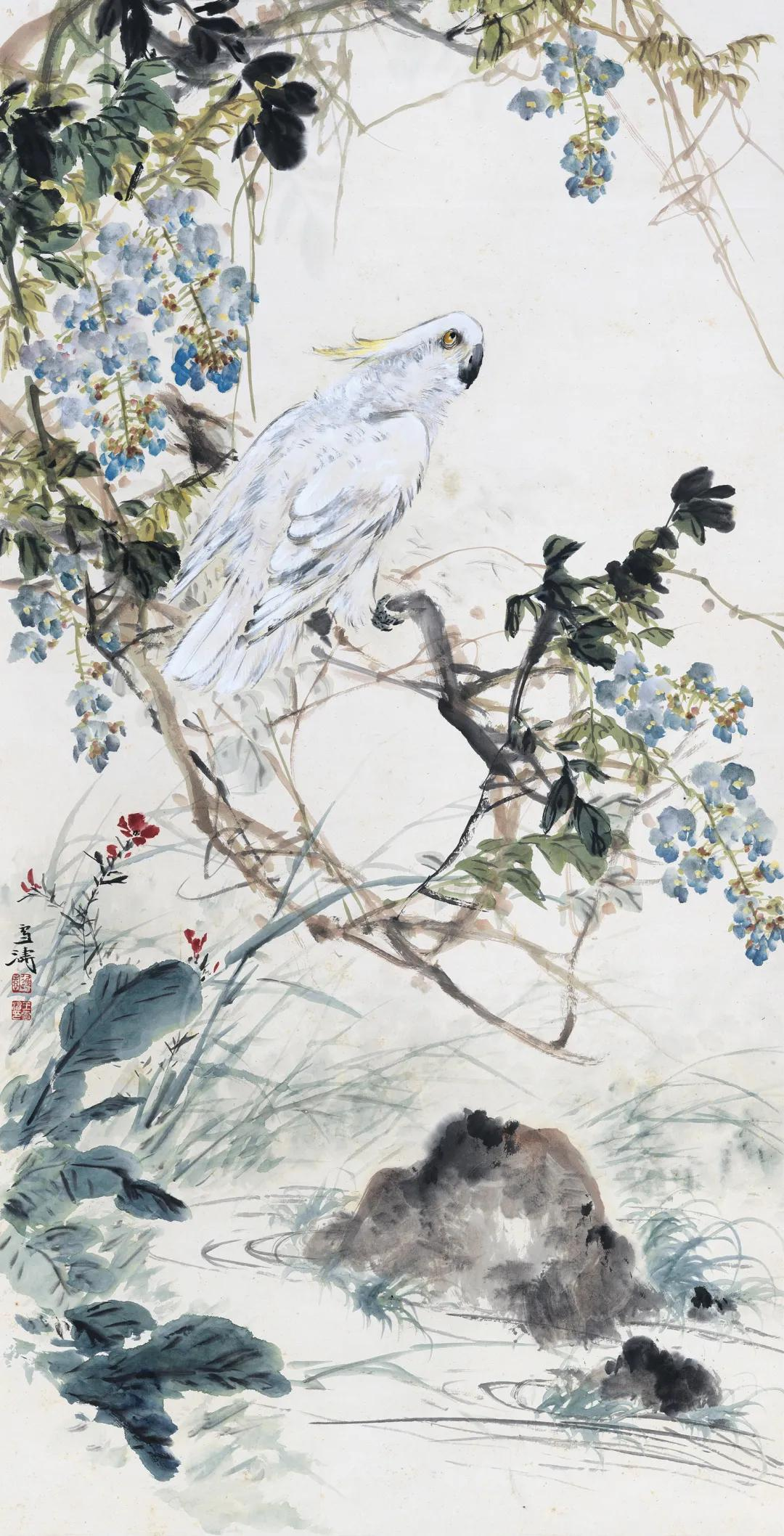 展讯 春风浓艳王雪涛作品展将于11月27日在荣宝斋大厦开展