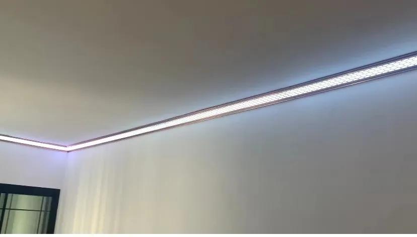 家装不再需要吊顶如何实现?易扣LED发光角线