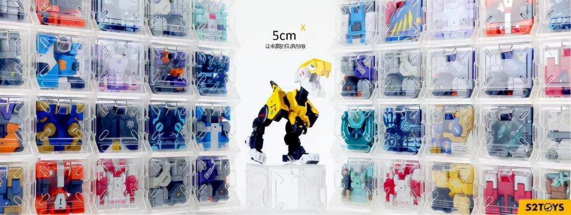 融资4亿元的52TOYS,要做国内第一收藏玩具品牌