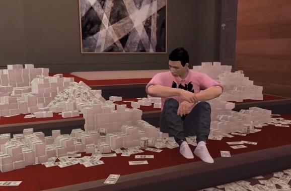 """《GTA5》抢劫任务被带走的""""金银财宝""""都有哪些?R星细节啊"""