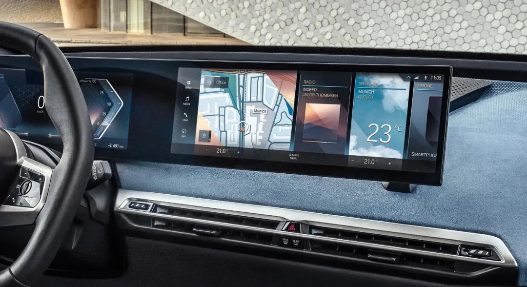 iD8马上就到了!宝马iDrive系统连续领先对手20年
