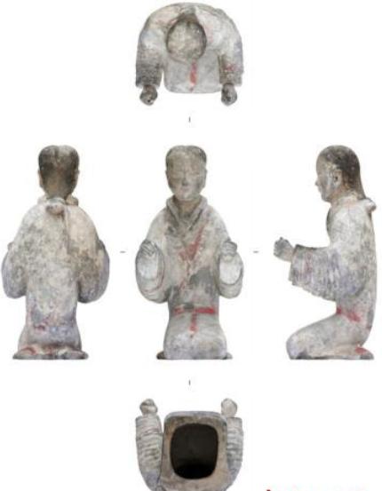 西安发现西汉早期大型墓葬,出土2200多枚玉衣片,是个高人