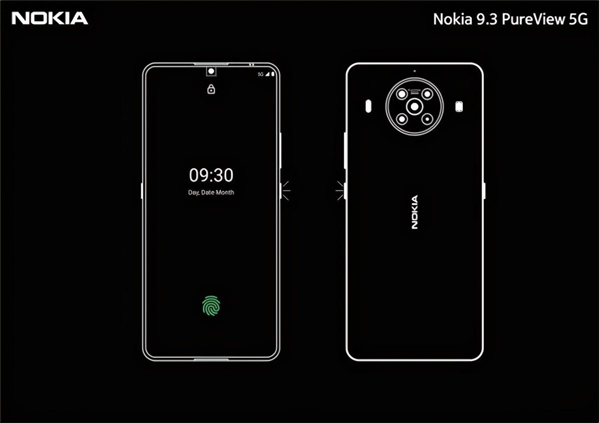 诺基亚10曝光,真全面屏与骁龙875,或成高端旗舰转型之作