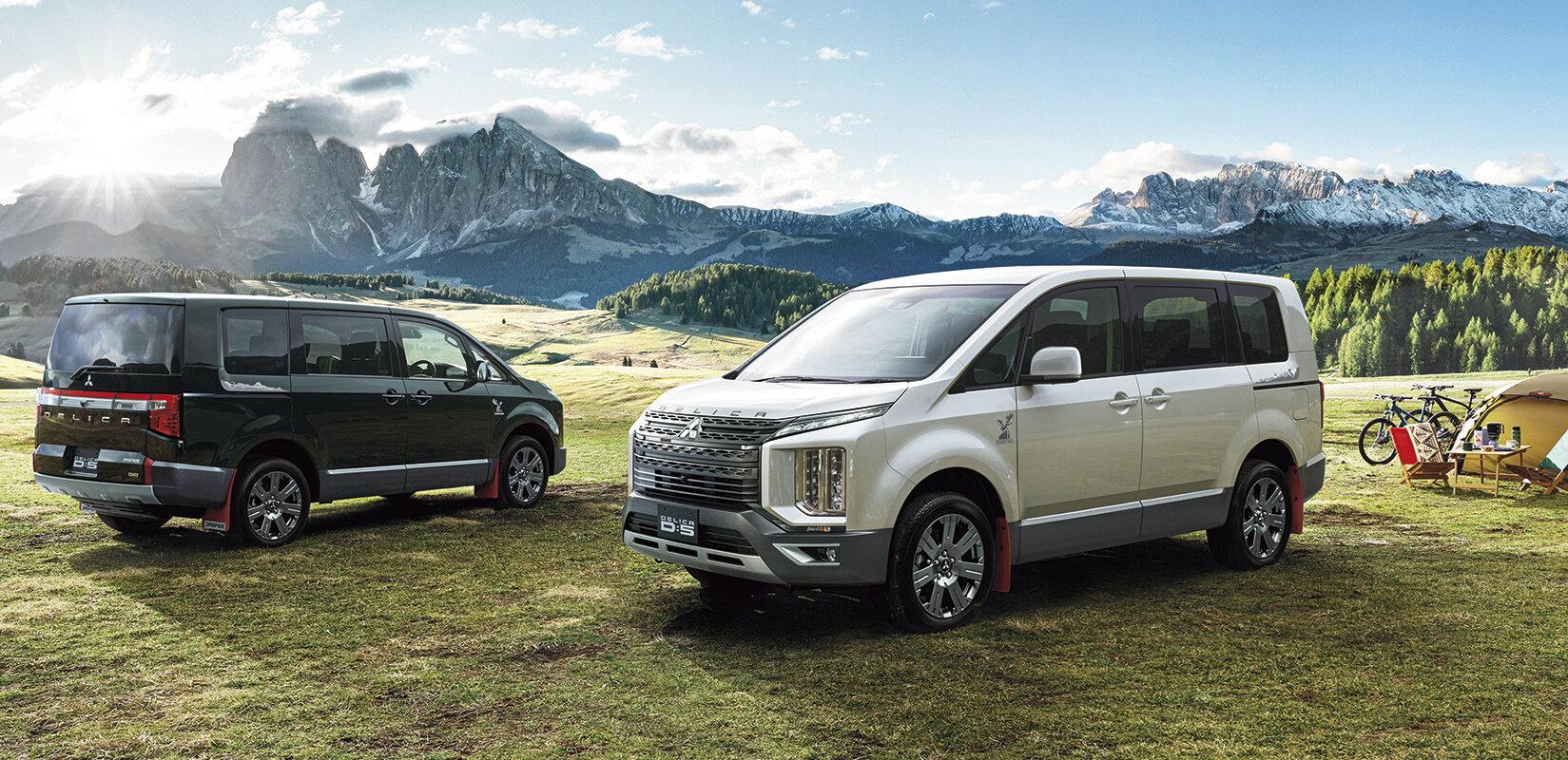 三菱汽车对Delica D进行更新,舒适性和安全性得到提升