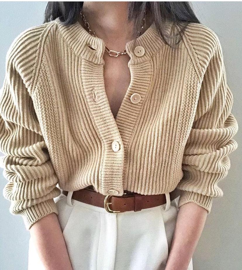 毛衣会选还要会搭,5个搭配建议,让基础款毛衣穿得更好看