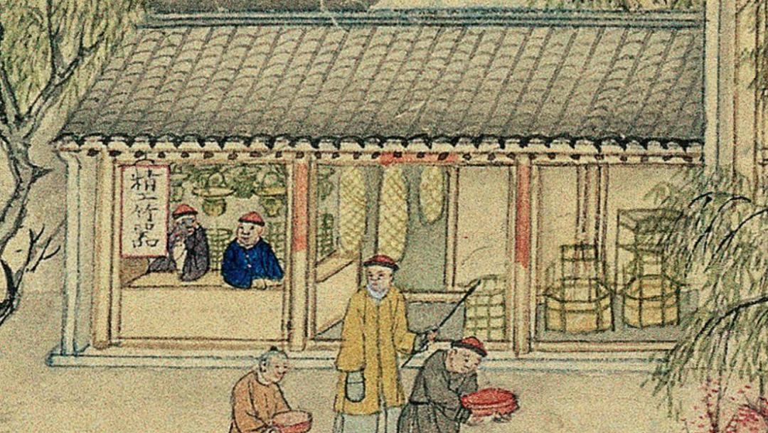 原来从古至今竹篮都是可以打水的