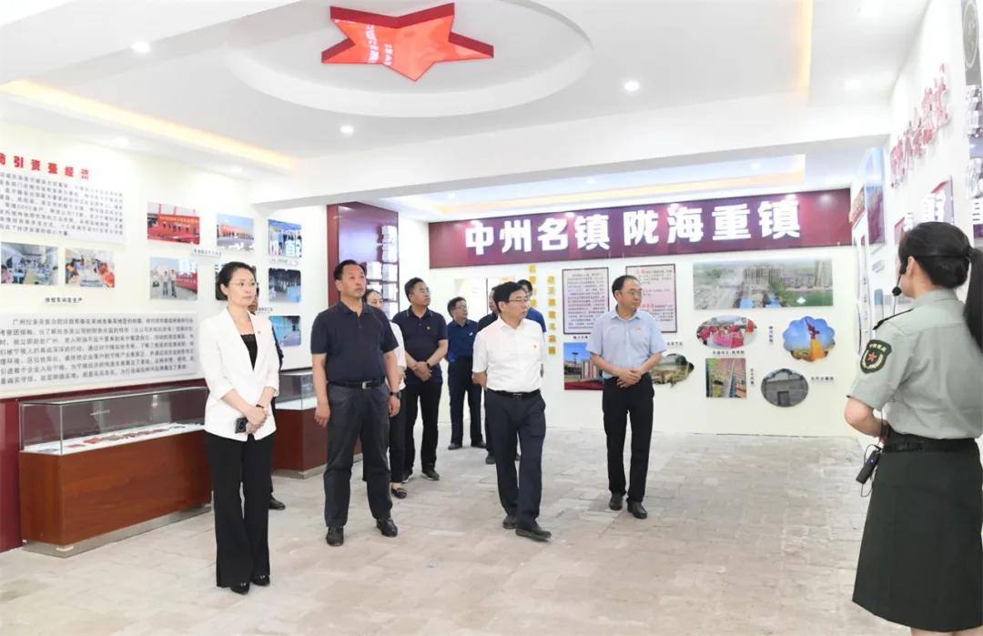 【特别报道】省委党史研究室一行到宁陵县考察党史教育基地工作