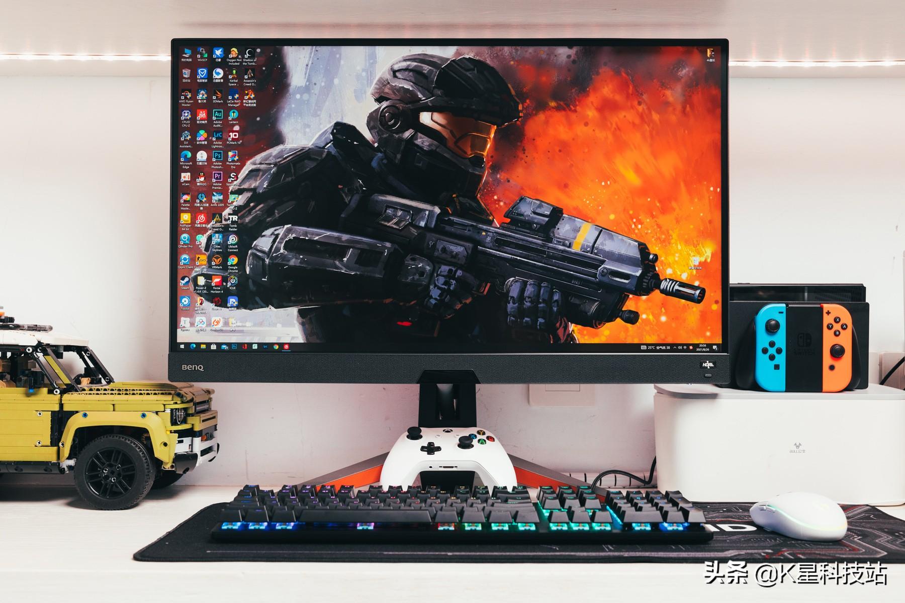 2K分辨率游戏显示器,该如何选择?MOBIUZ EX2710Q显示器深度体验