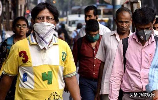 印度累计确诊突破500万例 仅11天新增确诊超百万