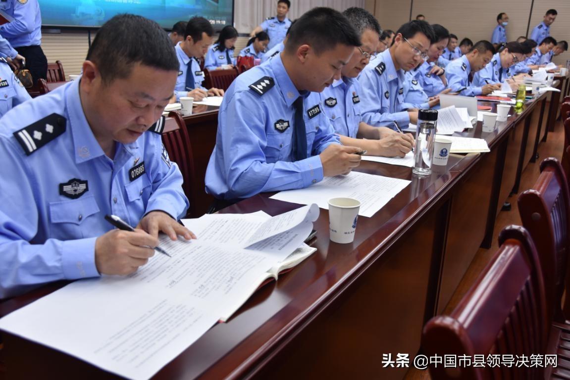 湖北浠水县公安局开展党史学习教育知识测试