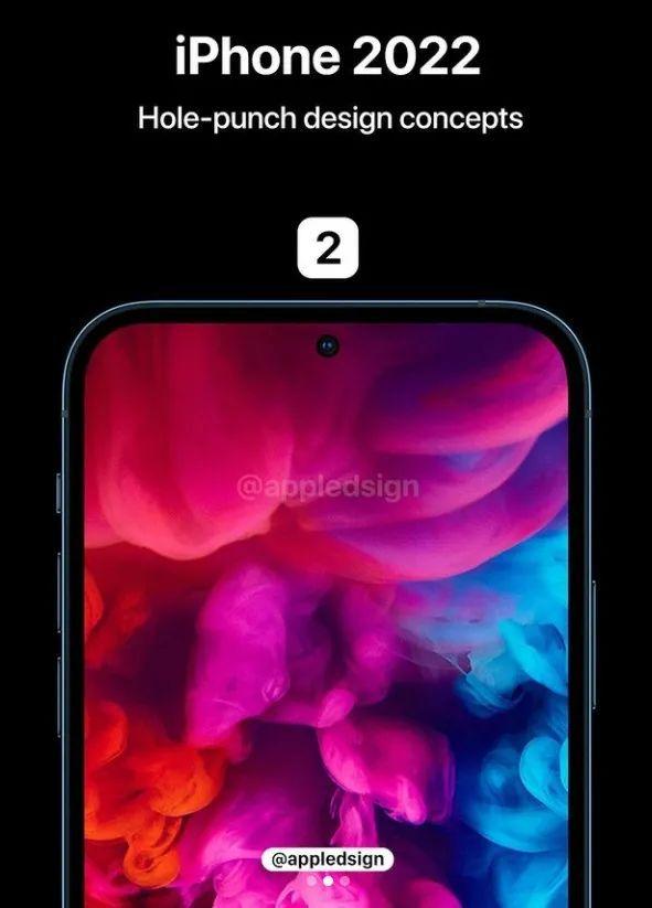iPhone 13外观渲染图没了刘海,会有屏幕指纹技术?