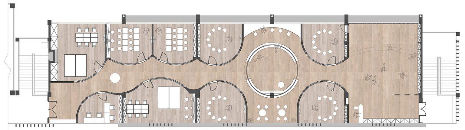 儿童活动中心改造设计,为孩子打造专属的纯净小世界
