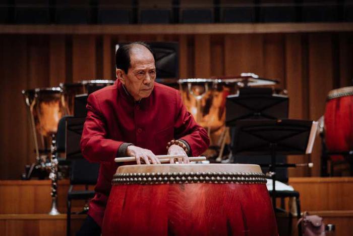 陕西省打击乐大师安志顺第四次登上国家音乐厅
