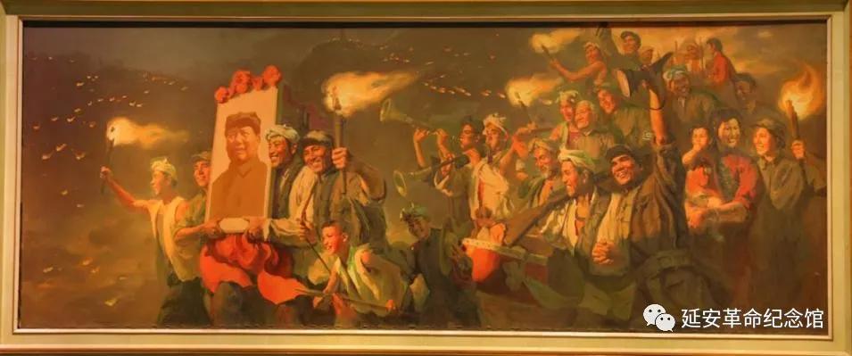 延安革命纪念馆馆藏艺术品首次对外展出
