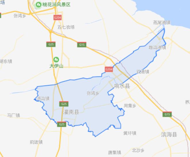 江苏省一个县,人口超80万,因为一条河而得名