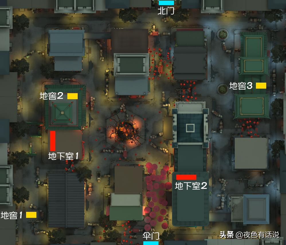 第五人格:纸鸢分享唐人街平面图,网友:各位人皇屠皇要开始忙了