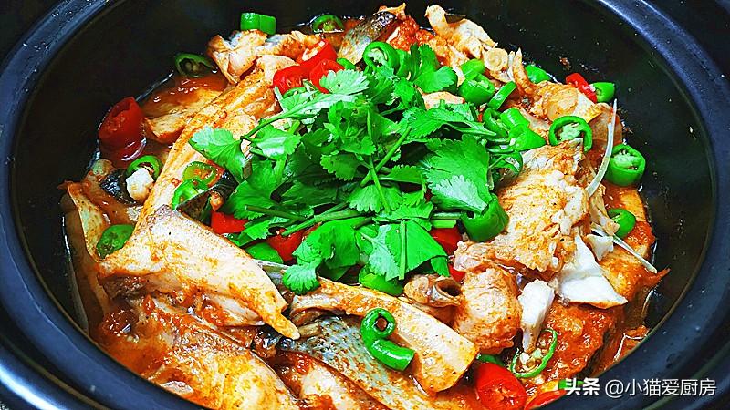 教你鱼肉好吃的一种做法 比饭店卖的还香 3斤大草鱼不够吃