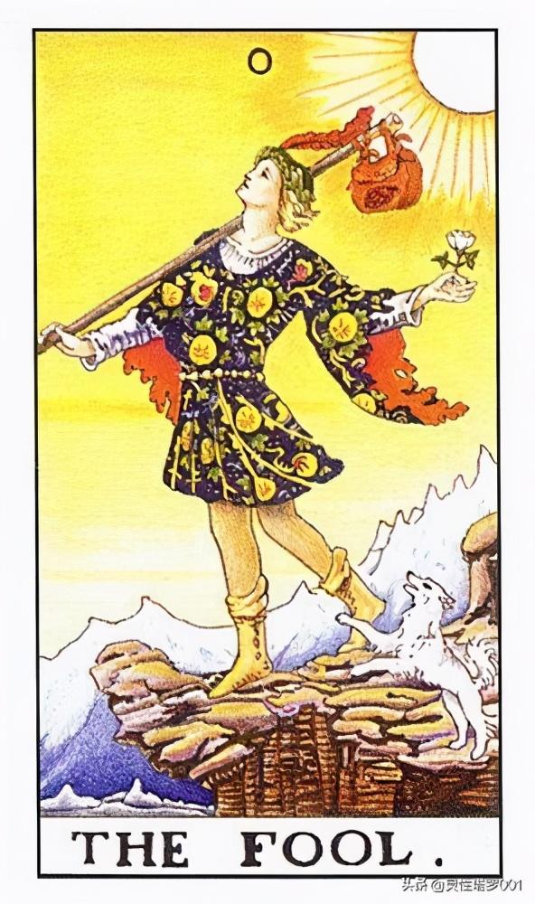 """塔罗牌的每张牌的神话故事,塔罗牌与希腊神话故事 之""""愚人"""""""