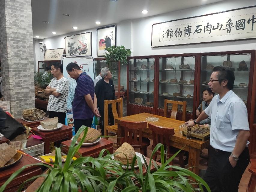 河北省观赏石协会文化高端访问团,来豫交流第三站,平顶山纪实。