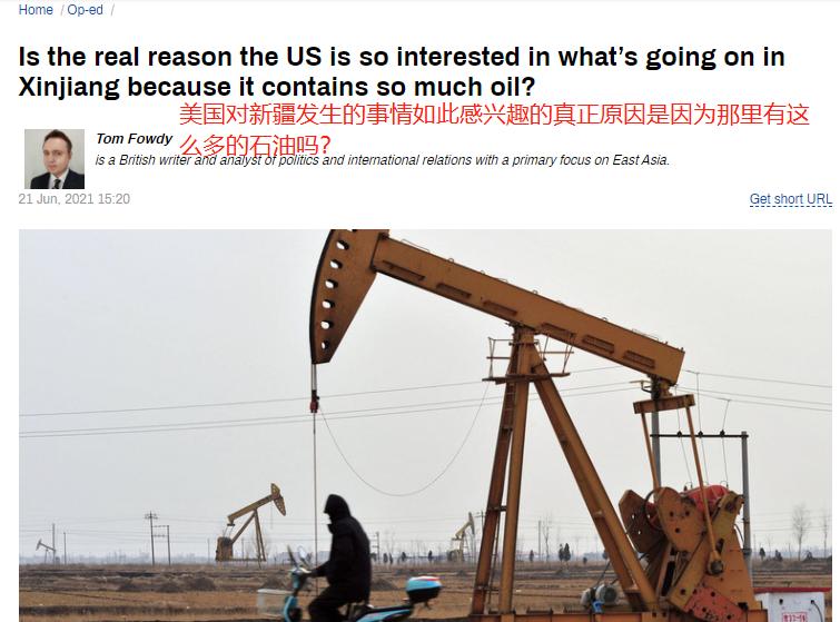 新疆发现10亿吨级特大油田,英国学者:难怪被美盯上!引外网反响