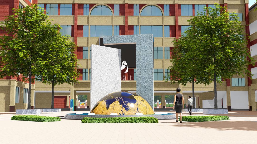「校园文化建设」校园文化的图腾——主雕