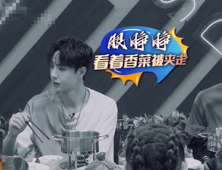 王一博粉丝拿香菜应援 画面太美不敢看 最与众不同的出场