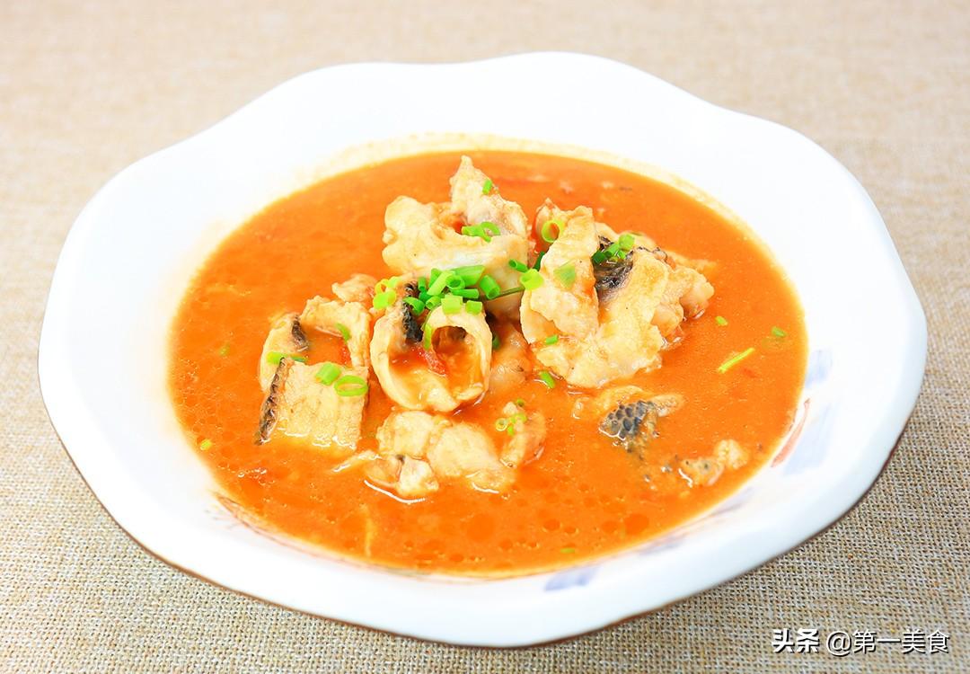 【番茄鱼】做法步骤图 汤汁酸爽开胃 全家人都爱吃