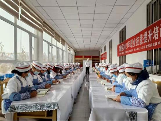 """甘肃省民勤县:技能培训让群众致富有""""术"""""""