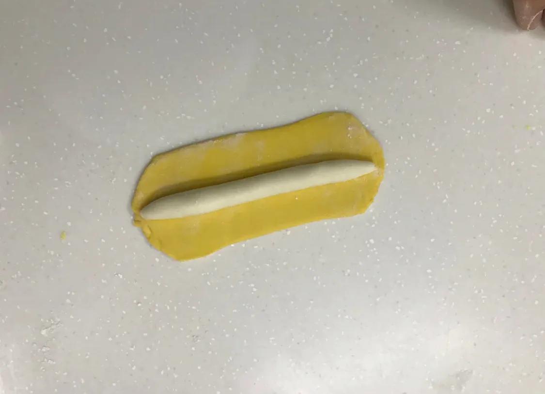 以假乱真的香蕉馒头 美食做法 第4张