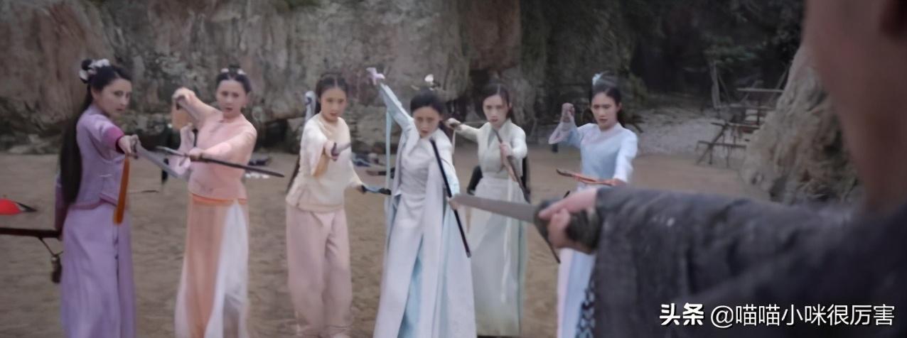 新《鹿鼎记》7个老婆长得像,看陈小春、周星驰版,都是大美女