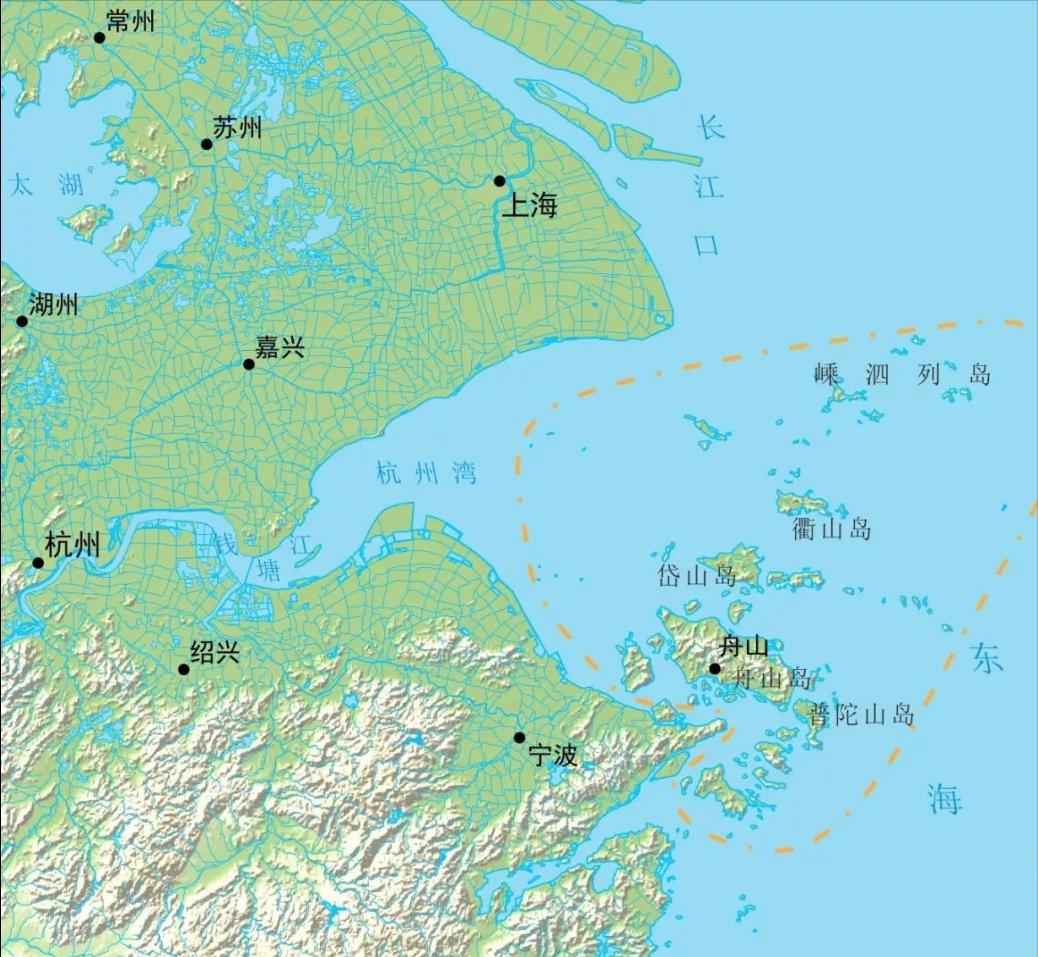 舟山在哪个省?
