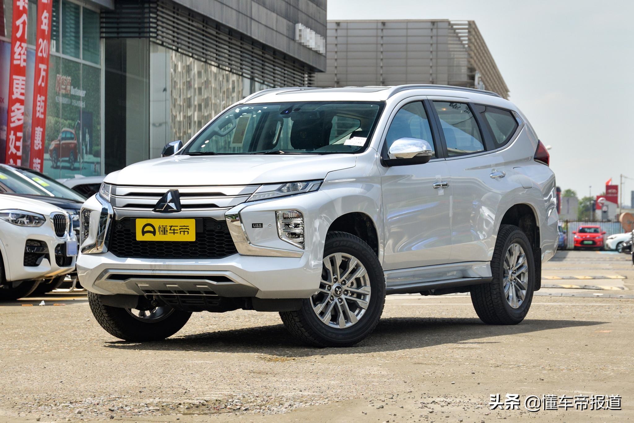 新车 | 售29.98万元,帕杰罗·劲畅3.0升行政版上市