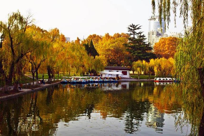 """西安""""最大""""的城市公园,人称关中""""圆明园"""",与西安交大相邻"""