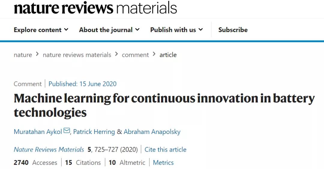 机器学习崛起:从材料设计到生物医学、量子计算....再到工业应用