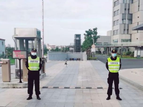 海阳保安 | 中秋国庆不团聚,责任在肩保安全