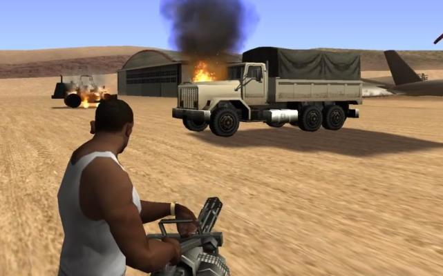 "From ""Vicious City"" to ""GTA5"" Gatling machine gun development history, remember the cheats?"
