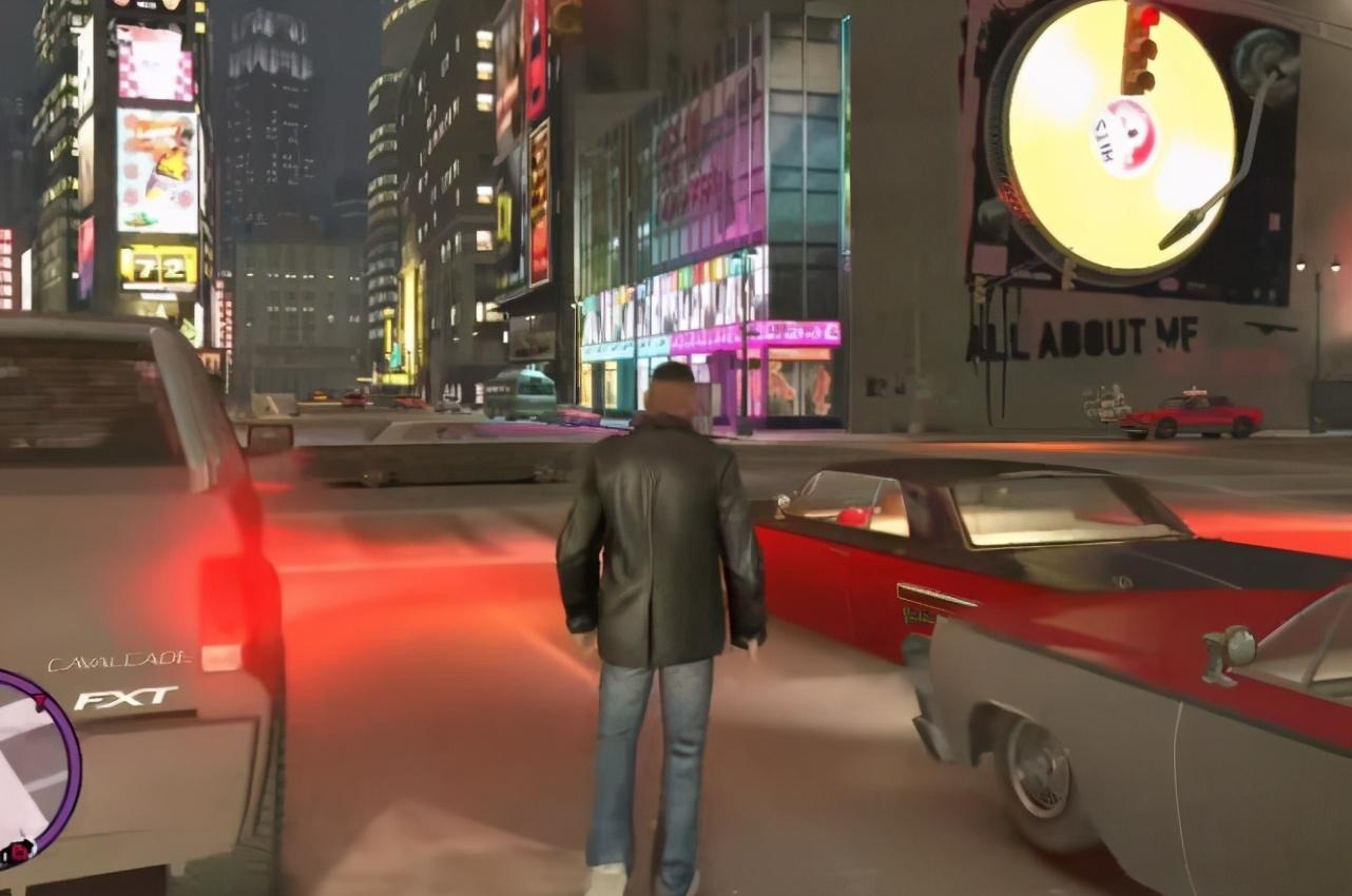 《GTA》主角身高发展史,全都是180的大高个,CJ是最矮的