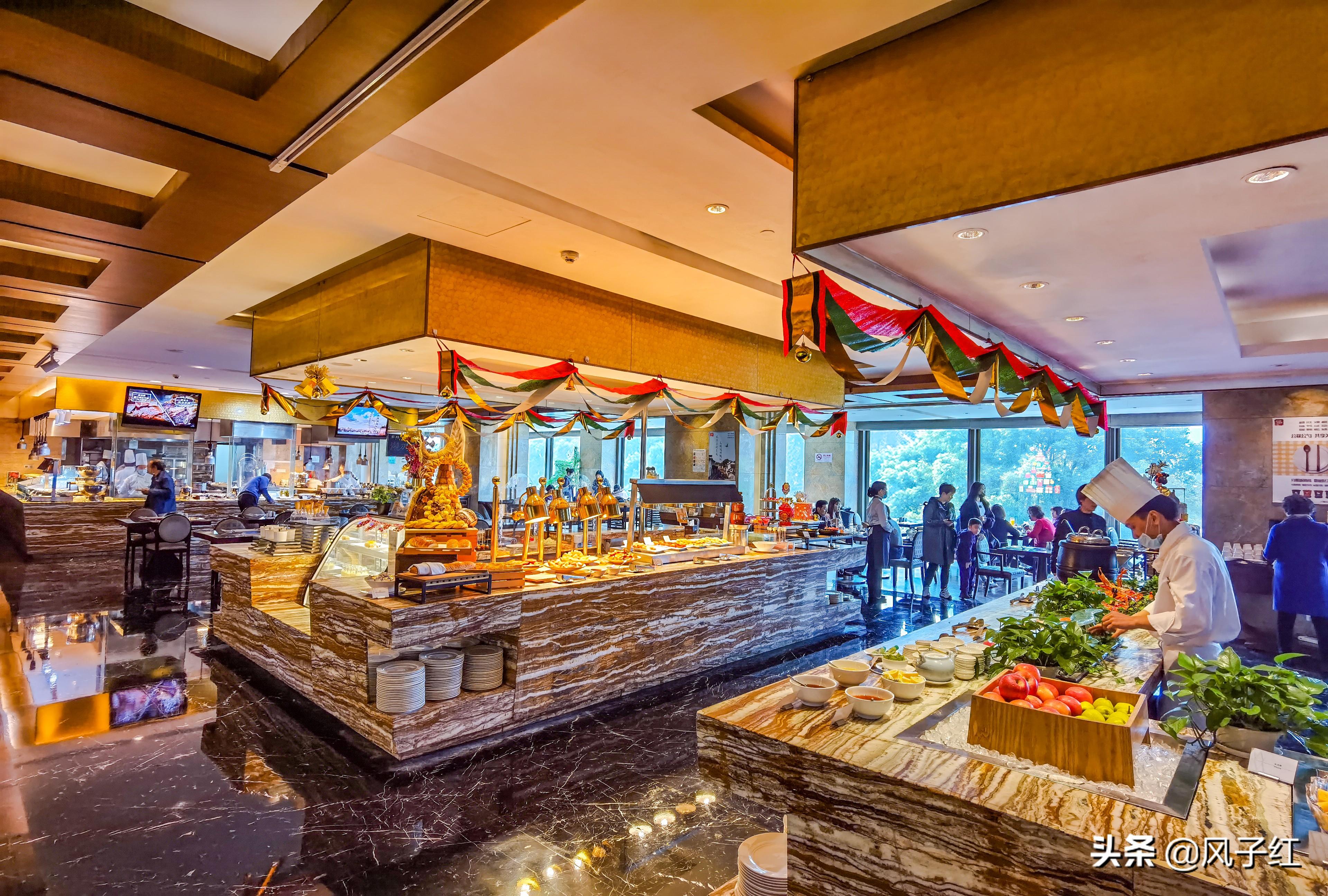 藏在上海一五星旅馆里的海陆自助餐,人均200元吃到撑,珍藏了 特色推选: :上海五星酒店