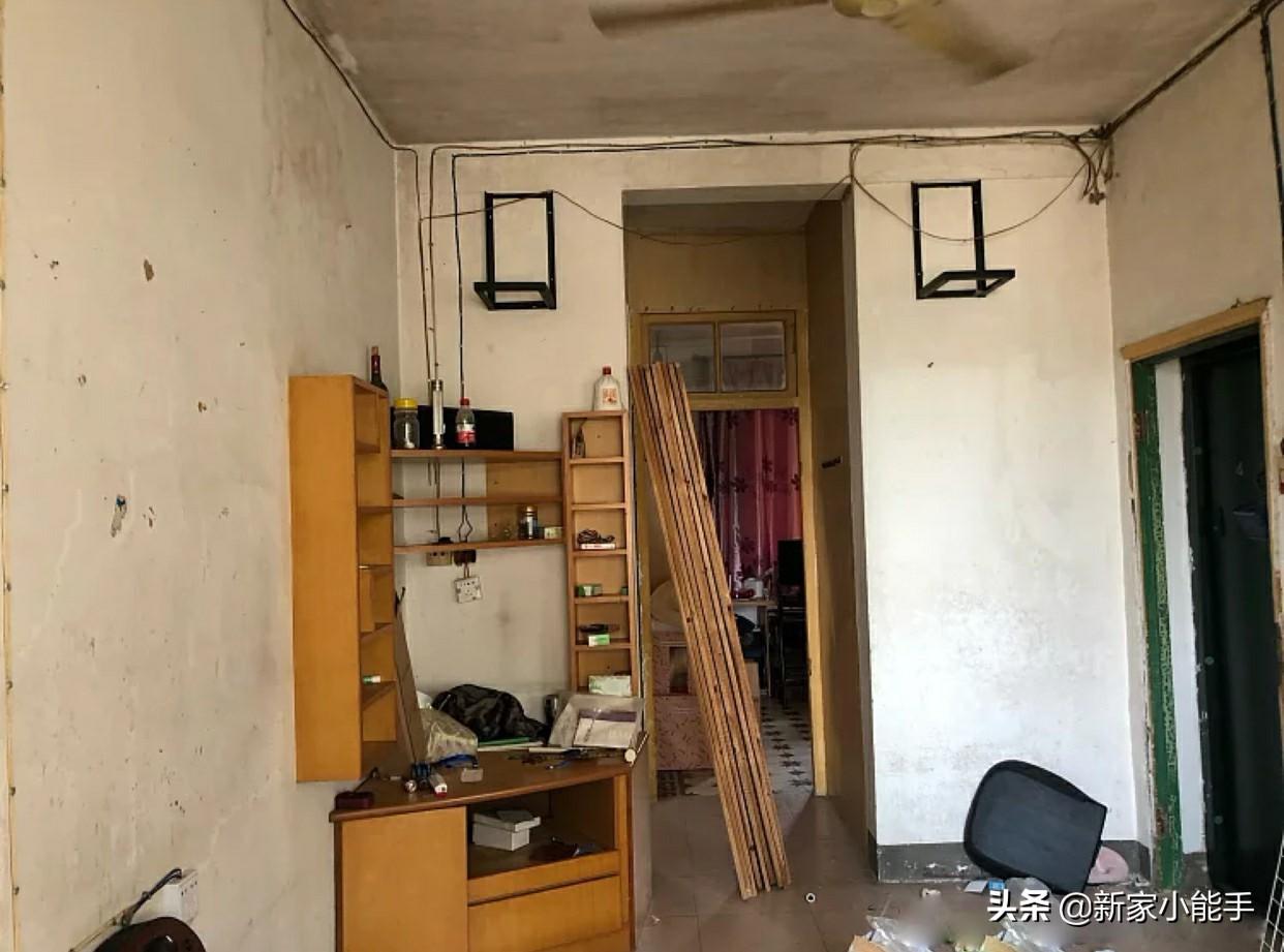 带大家看看,她改造52平老破旧房子,完工后很漂亮,太羡慕了