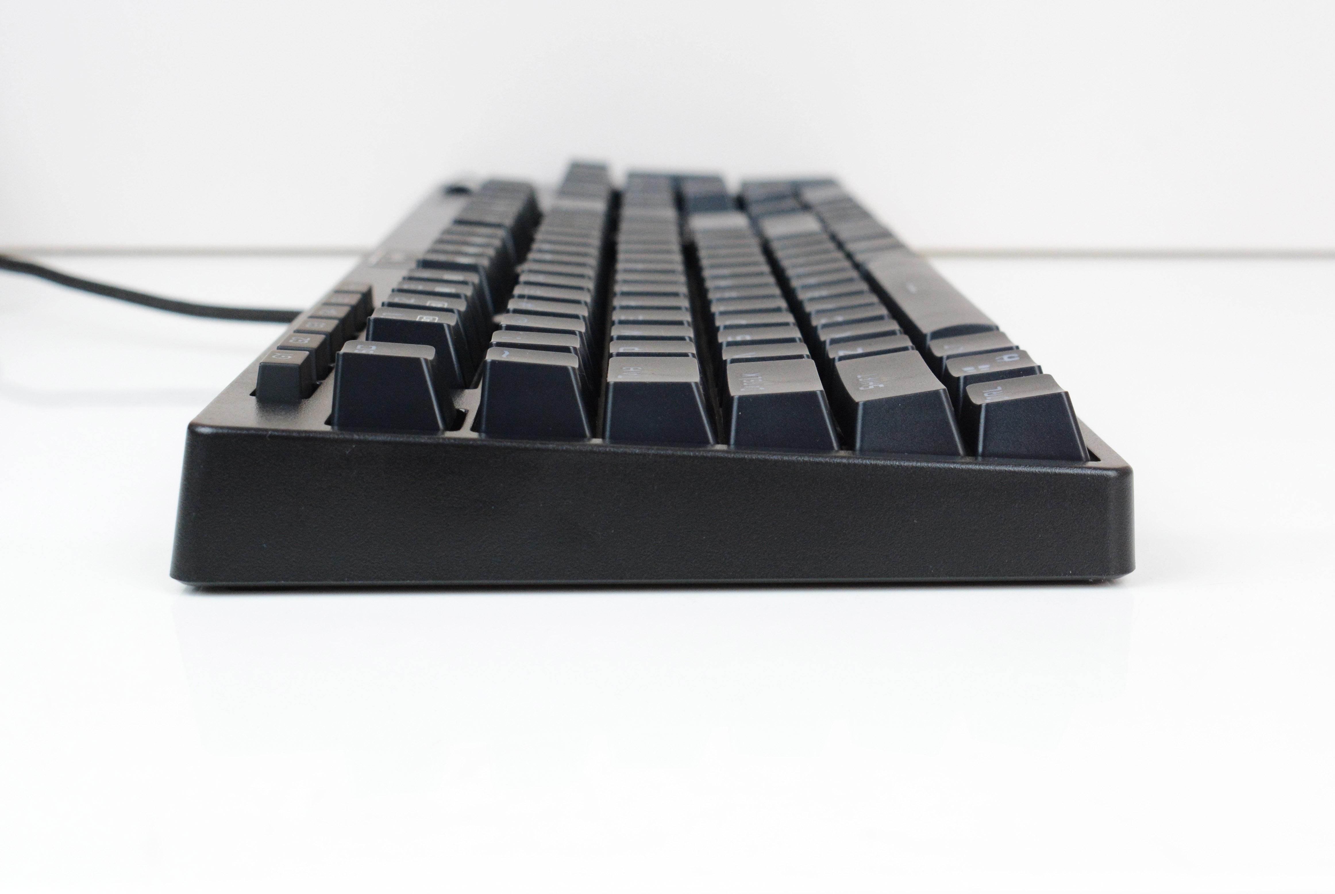 青轴初体验,超频三GI-KB801黑曼巴机械键盘 上手