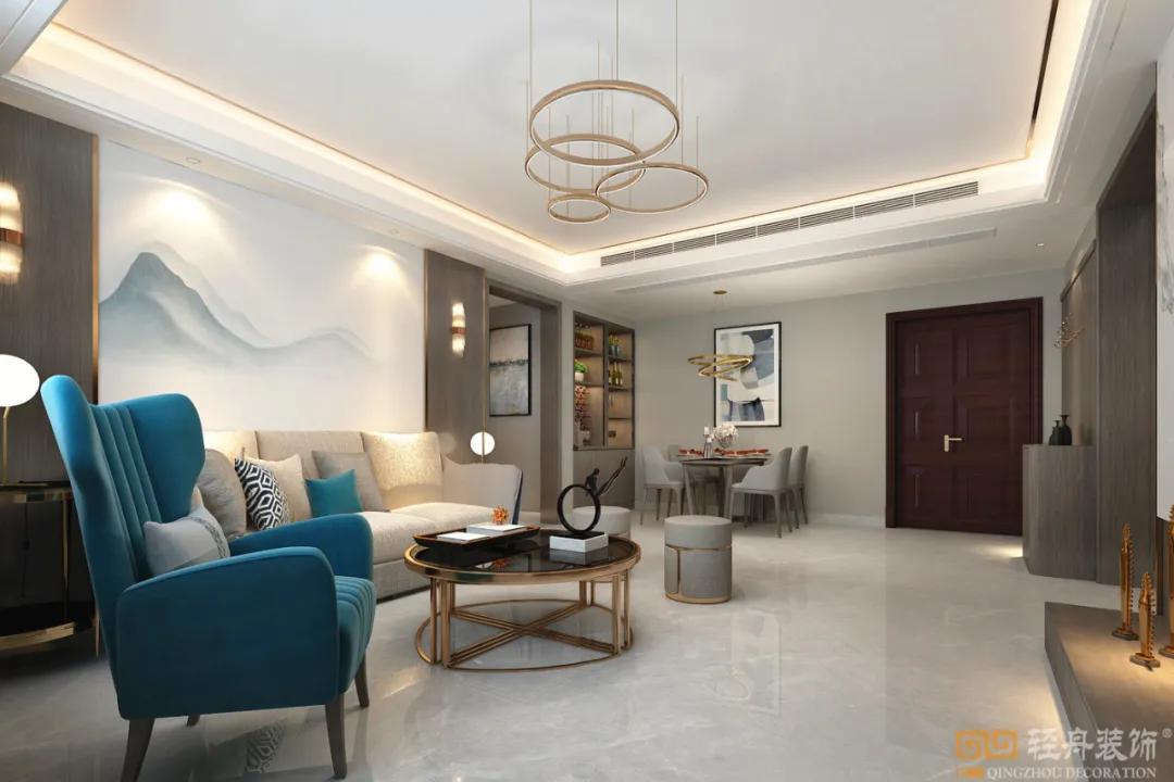 首发 | 泰安广顺居小区120㎡,3代人同居,主案设计师刘长岭