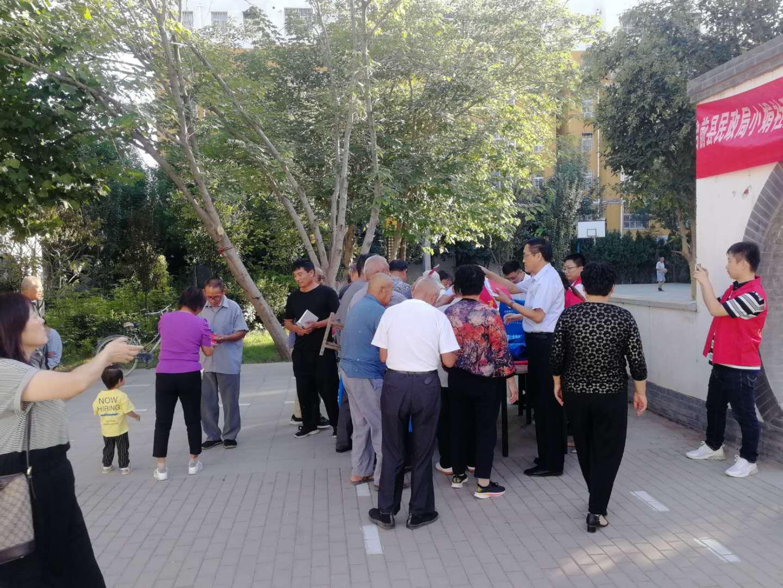 台前县民政局携手河南濮东律师事务所开展公益普法服务活动