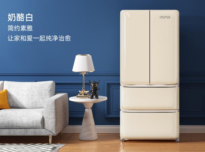 """大容量、科技感,小吉法式复古冰箱因此成""""网红"""""""