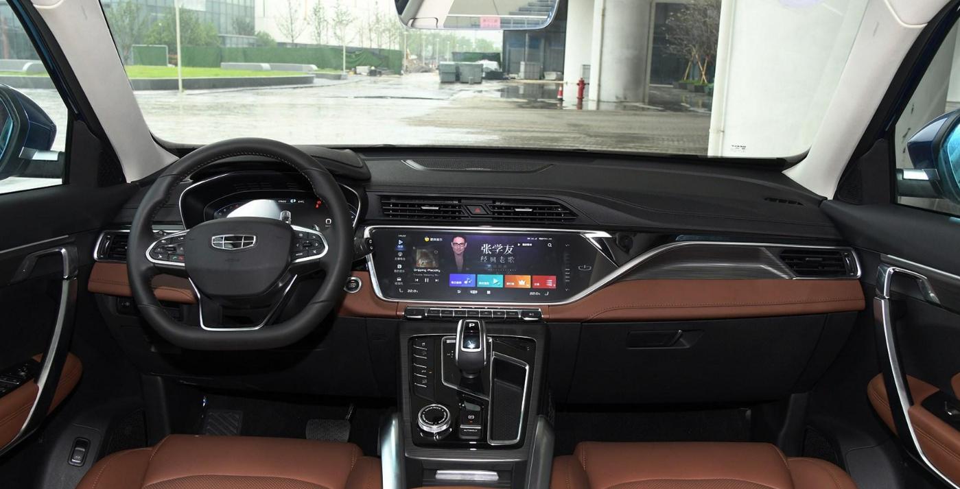 新增48V轻混车型,改款后的吉利博越pro,产品力再提升