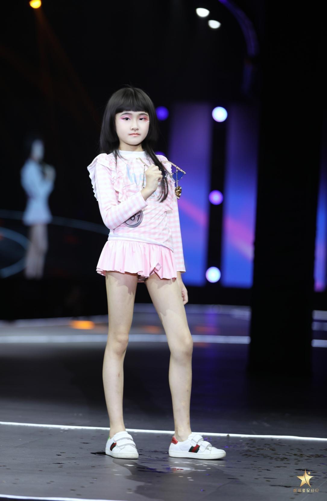 2021精英童模超级联赛官方发言人——黄姚婉尔