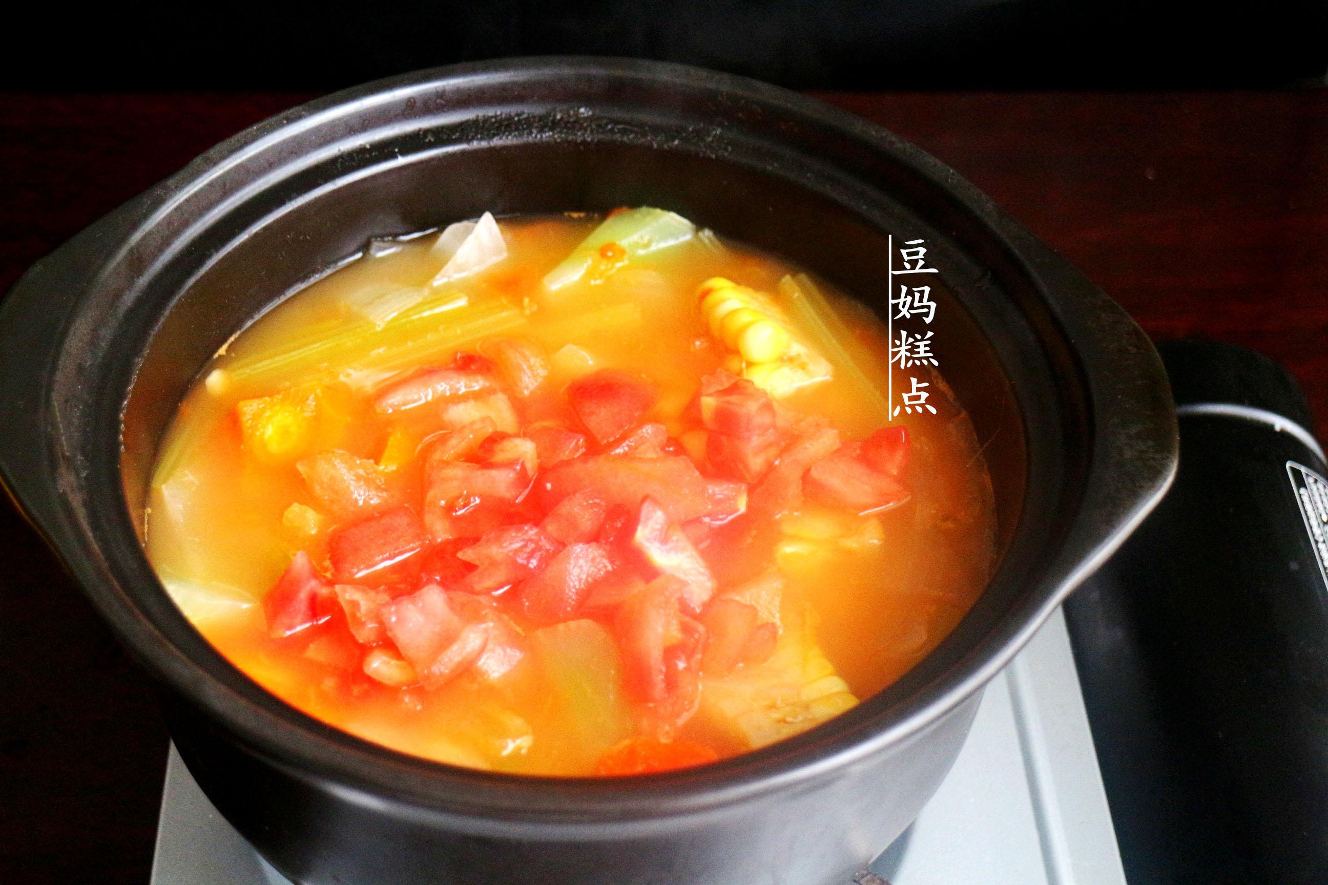 学做瘦身蔬菜汤,健康瘦身,营养不缺 减肥菜谱 第8张